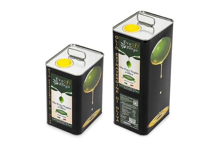 Latte da 3litri e 5litri di Olio extravergine di oliva