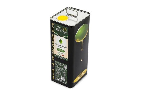 Latta da 5 Litri di olio extravergine di oliva