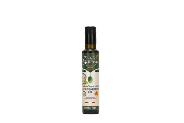 Bottiglia di Olio EVO DOP da 250 ml