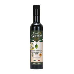 Olio Extravergine di oliva DOP, bottiglia da 500 ml