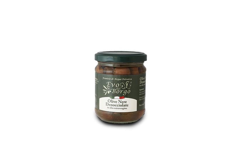 Olive nere denocciolare