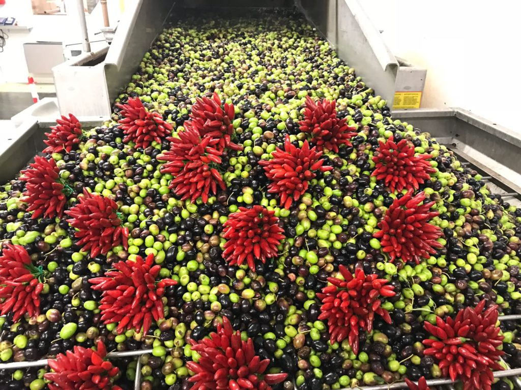 olive e peperoncino