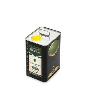 Latta da 3 litri di olio extravergine di oliva