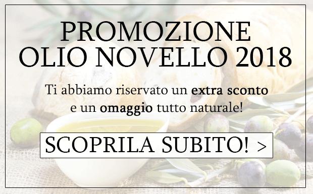 Promozione Olio Novello 2018