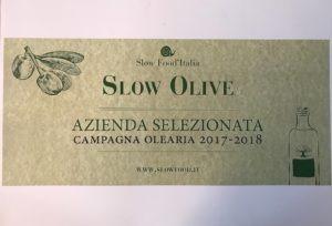 Azienda Selezionata da SlowFood